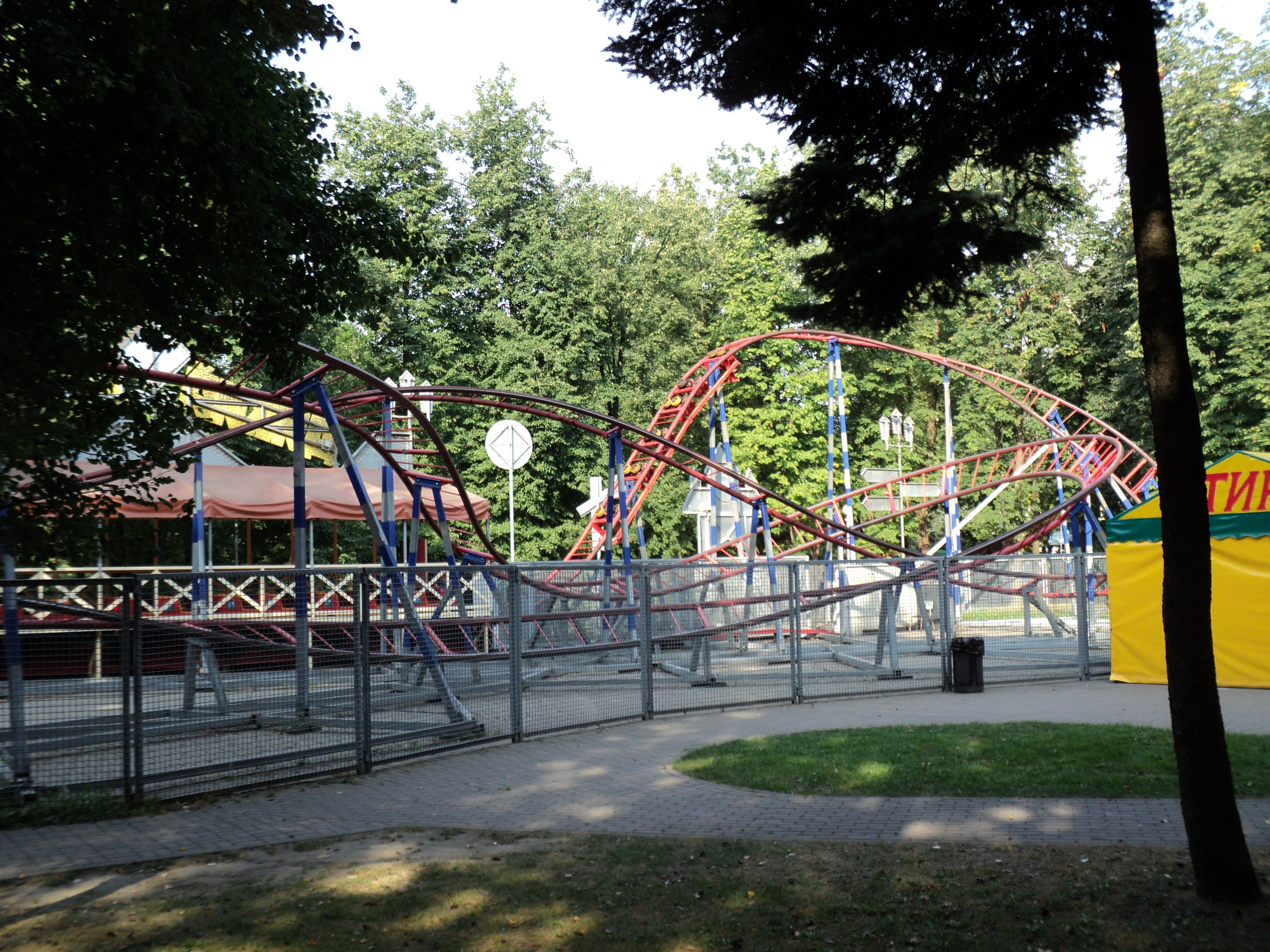 фото парк горького минск